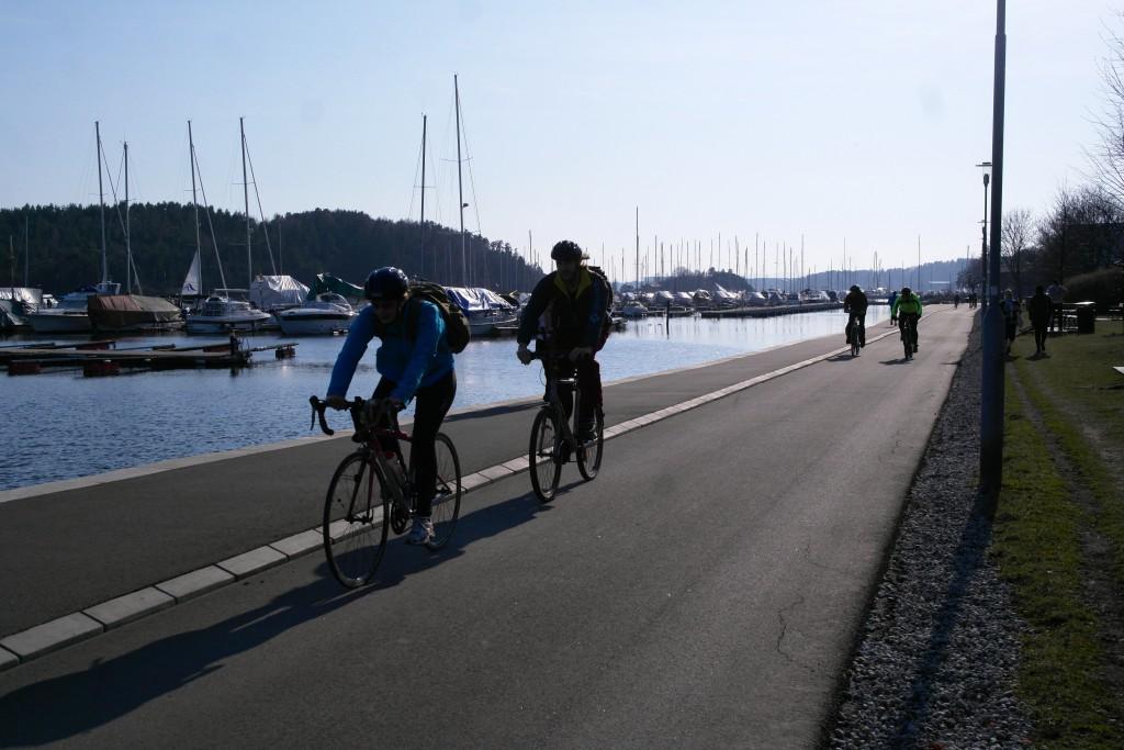 Antall syklister øker med antall lyse dager