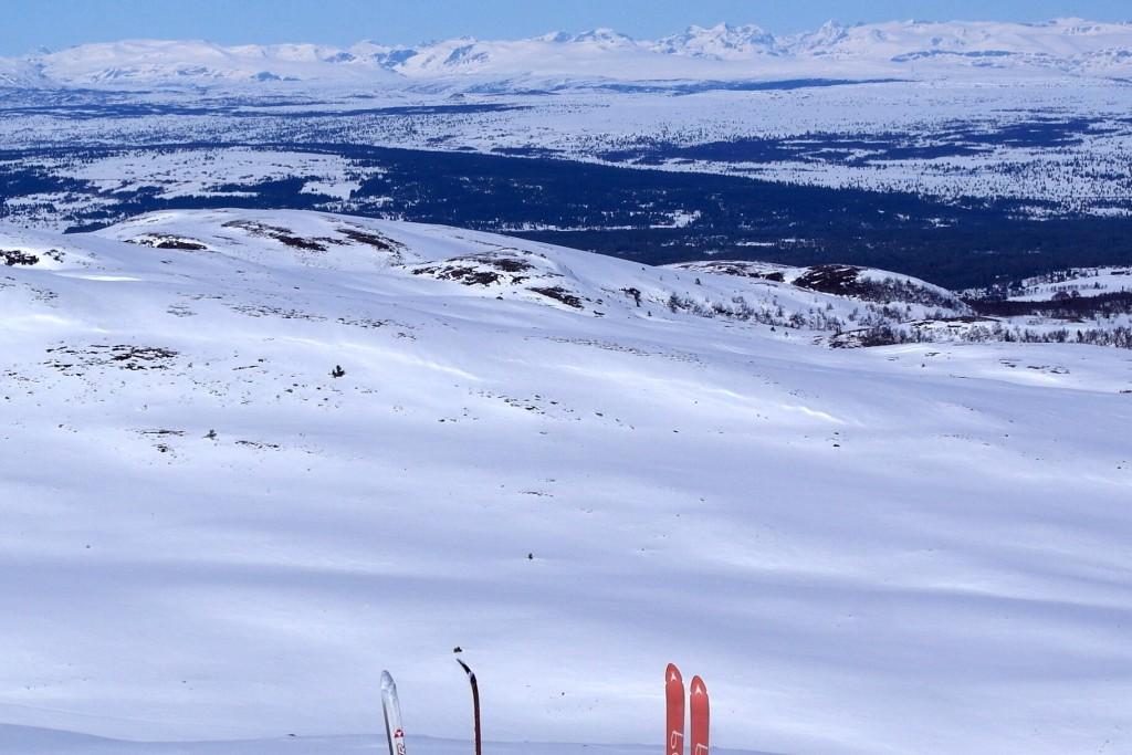 Utsikt fra Nystølvarden