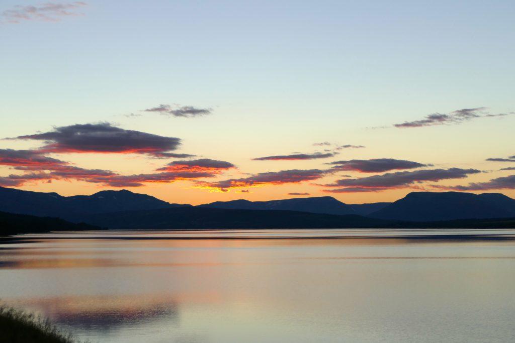 Tisleifjorden melllom Golsfjellet og Valdres