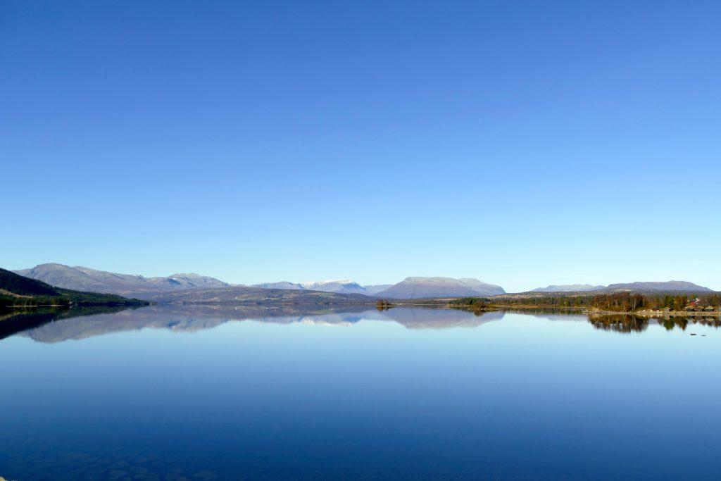 Stille morgen ved Tisleifjorden