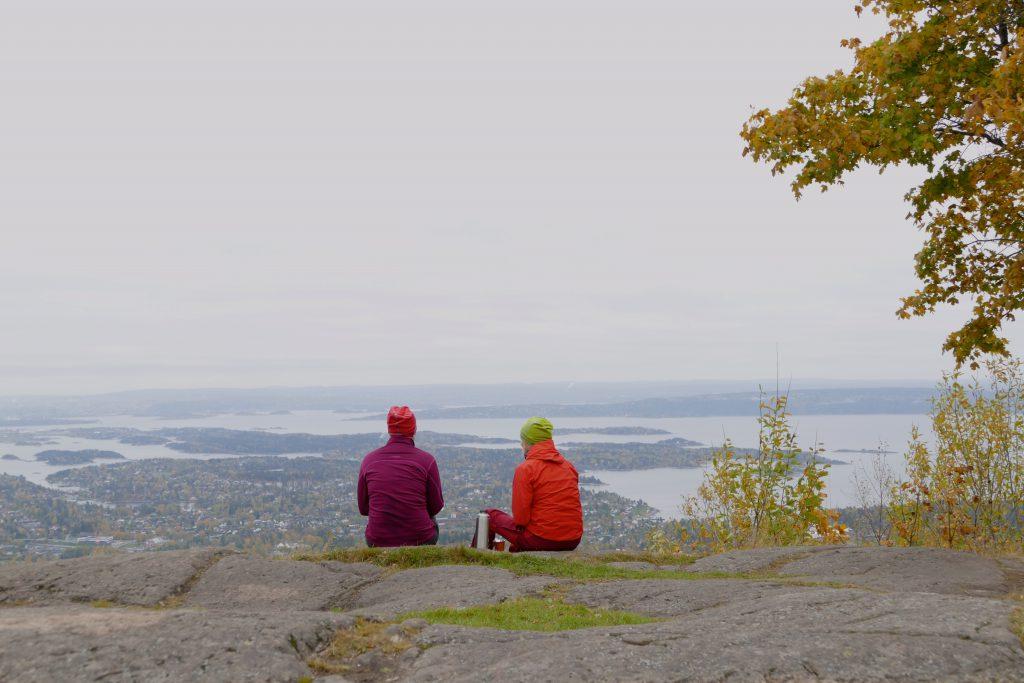 Med kongelig utsikt fra Skaugumåsen